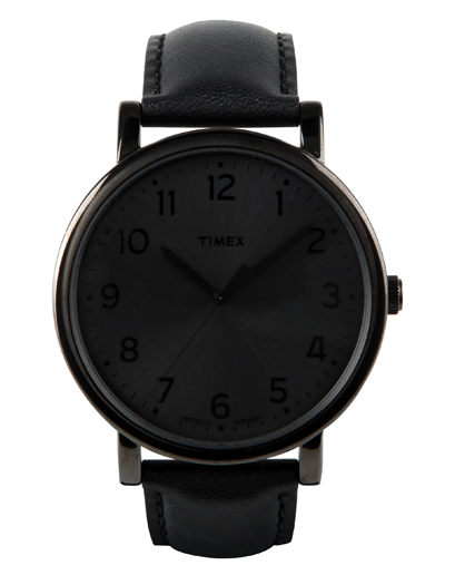 Timex black watch