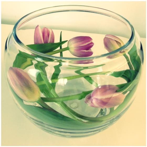 florals - bowl