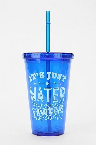 Urban Outfitters water cup