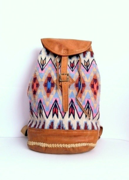 Etsy Navajo backpack