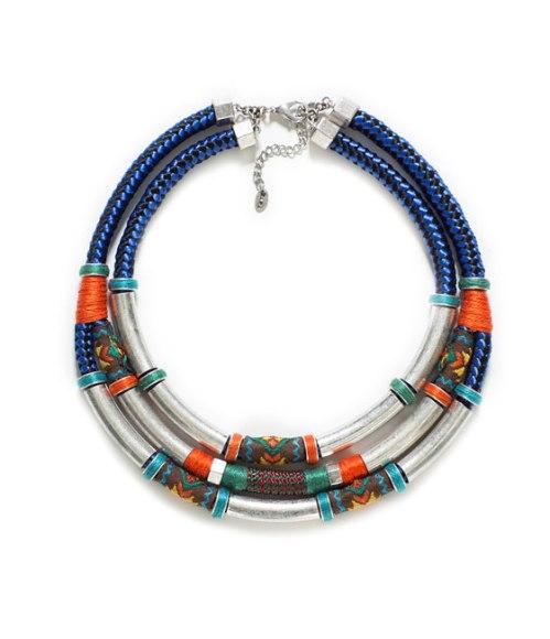 necklace - tribal (zara)