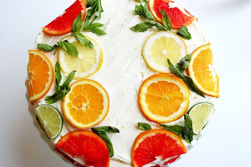 Stella McCartney citrus cake