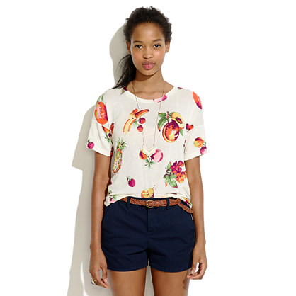Madewell fresh fruit tee