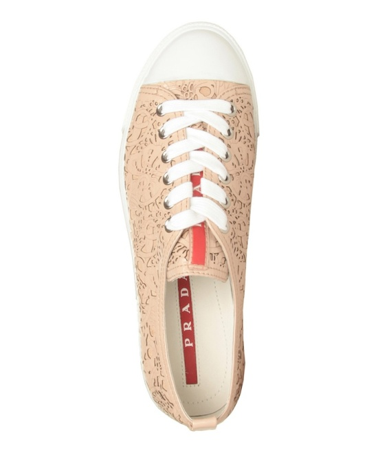 Prada cutout sneakers