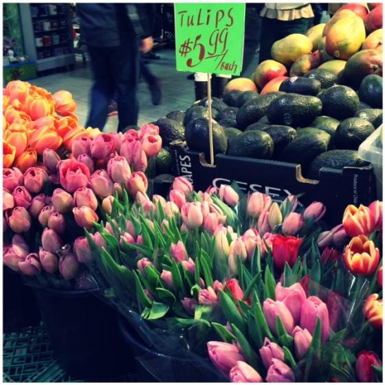 St. Lawrence Market flowers