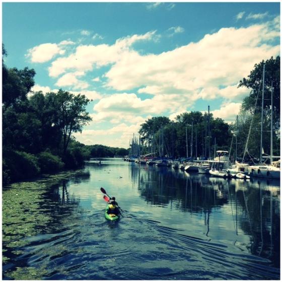 Ward's Island Toronto