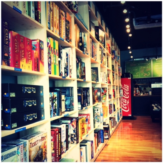 Castle Board Game Cafe Toronto