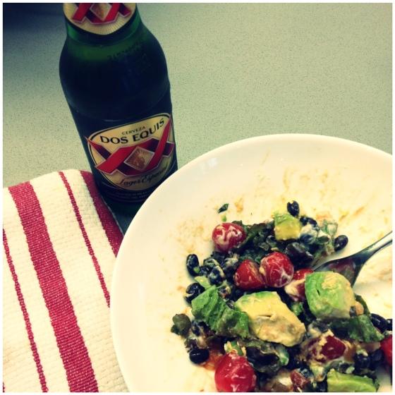 burrito salad