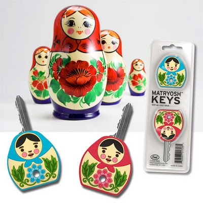 Matryoshka key covers