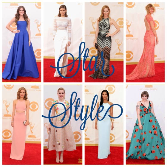 Emmys 2013 Red Carpet Fashion