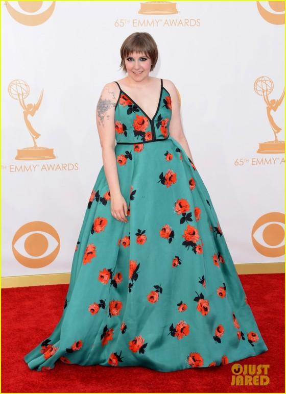 Lena Dunham - Emmys 2013