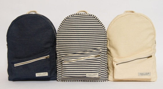 Stone + Cloth backpacks