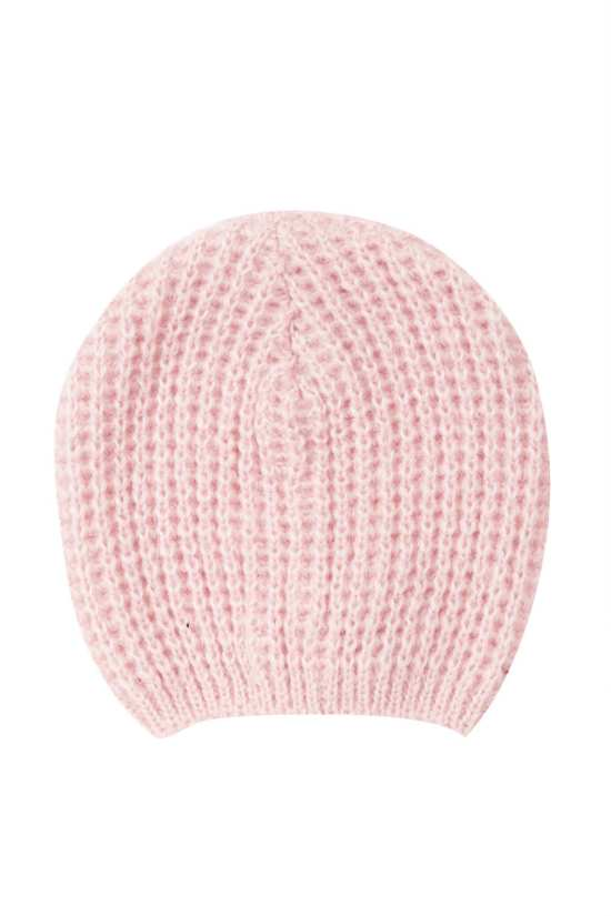 Top Shop Pink Cobweb Beanie