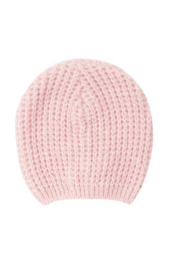 Top Shop Pink Cobweb Beanie