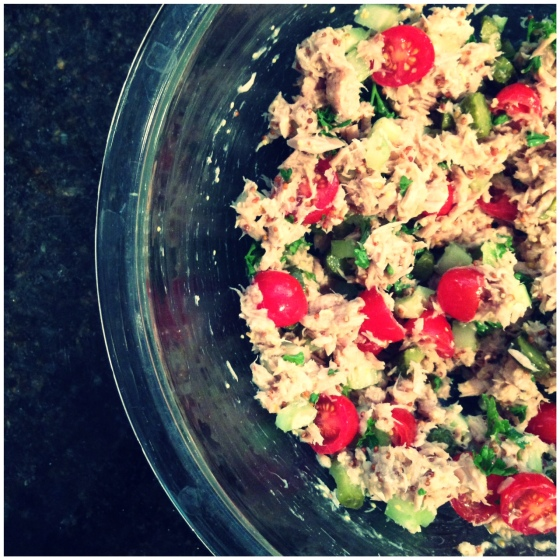 the very best tuna salad