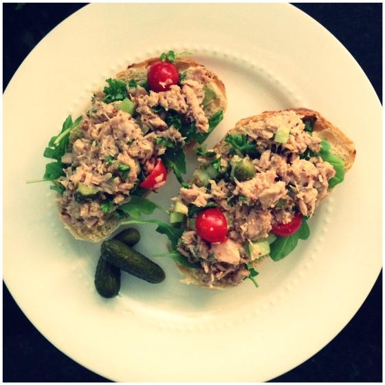 the very best tuna salad