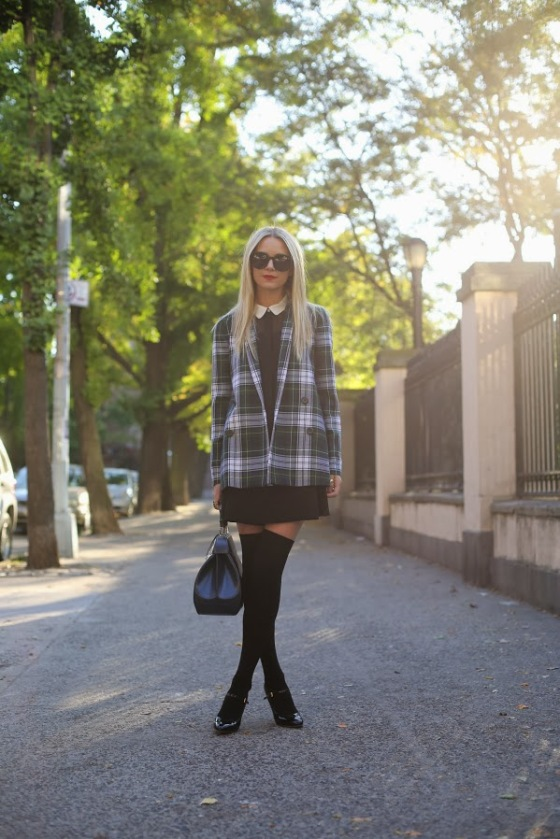 Atlantic-Pacific plaid coat