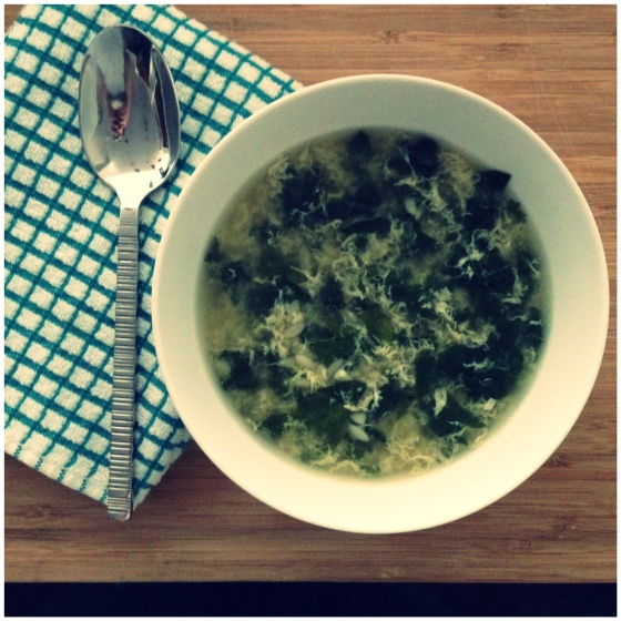 Simple Stracciatella Soup