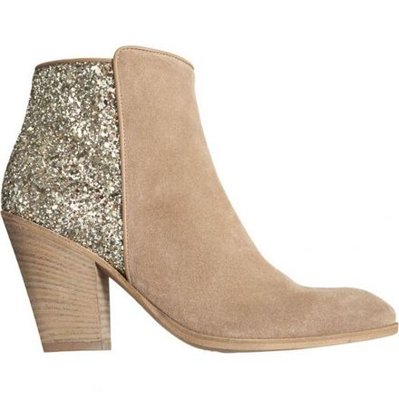 beige sparkle booties - Aldo