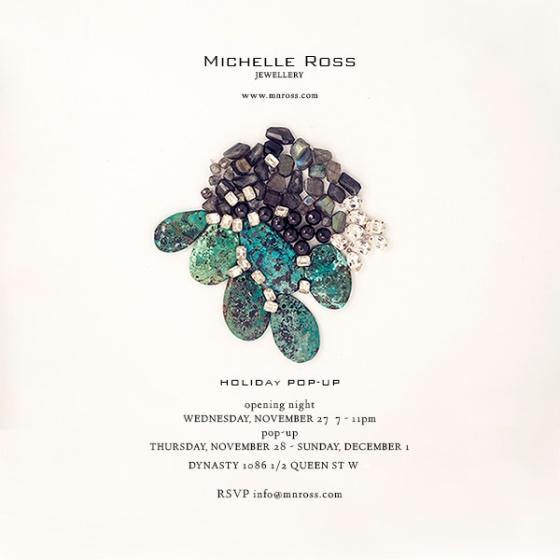 Michelle Ross Jewellery Toronto Pop-Up Shop