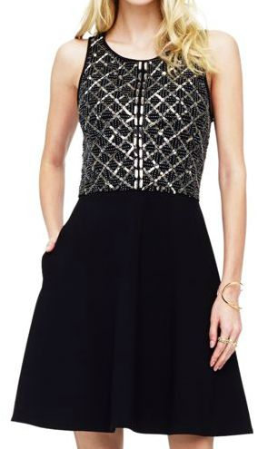Club Monaco Rebecca Embellished Dress