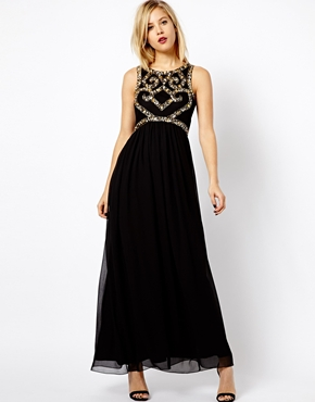 ASOS A Wear Embellished Maxi