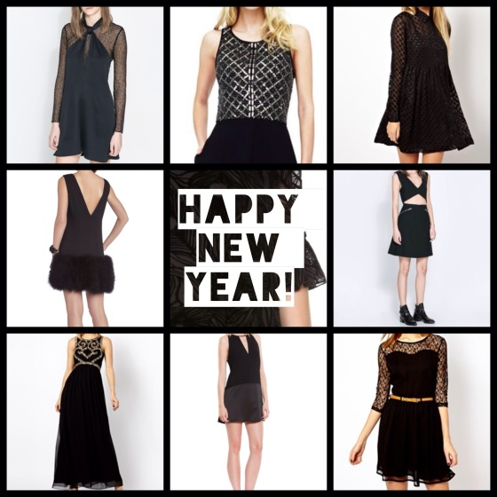 9 Little Black Dresses for New Year's Eve