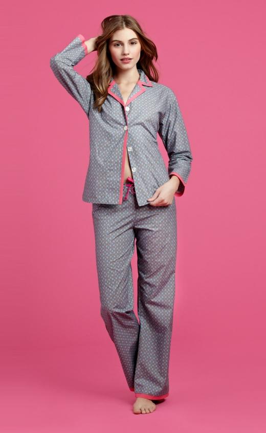 BedHead Turquoise Foulard pajama set