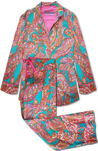 PJ Salvage paisley flannel pj set