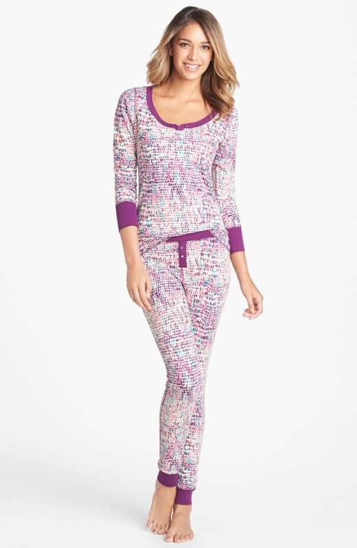 Steve Madden Cozy Up printed pajama