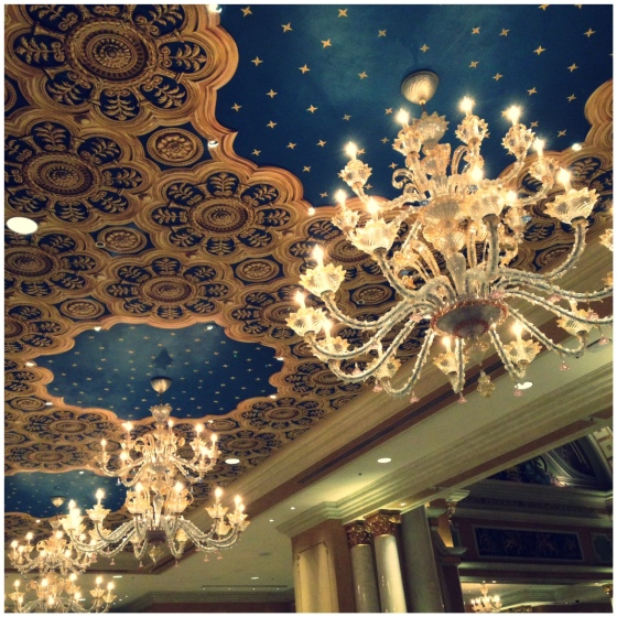 The Venetian Hotel Las Vegas lobby