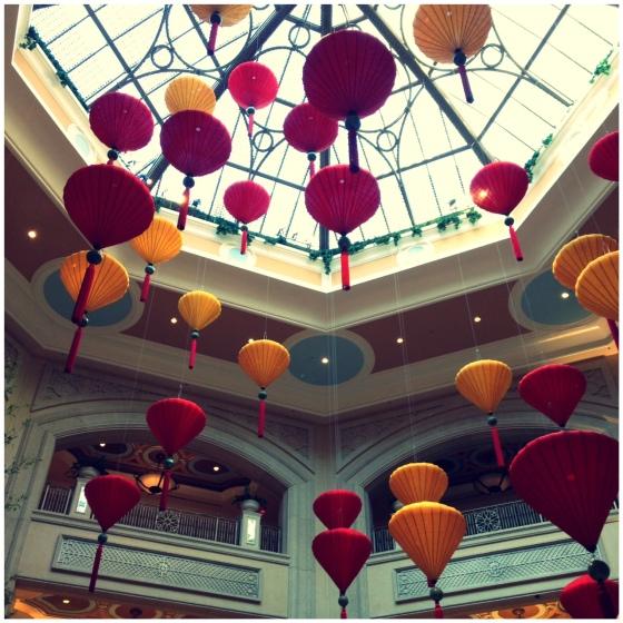 The Palazzo Hotel Las Vegas lobby