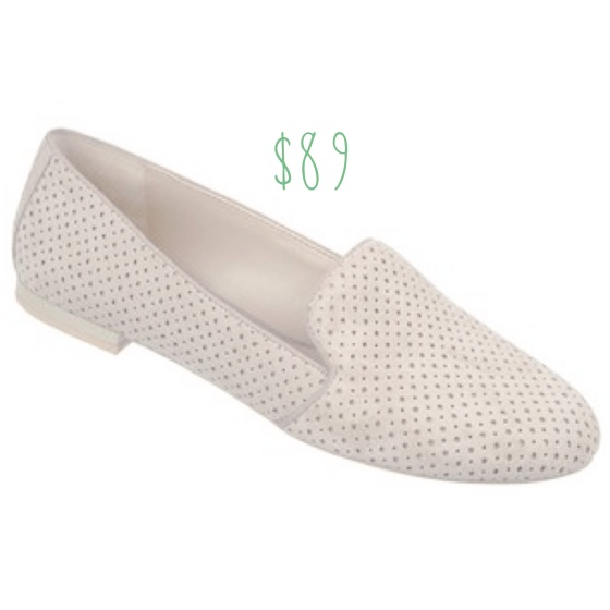 Franco Sarto perforated zahara flats